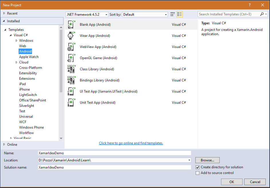 Use IDEA IDE for Android UI design with Visual Studio and Xamarin ...