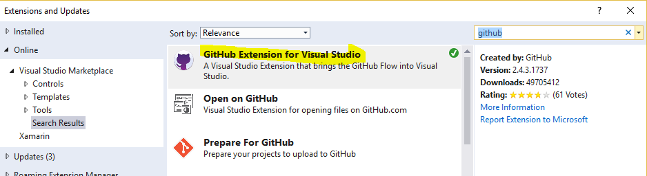 Learning Git with Visual Studio #7 « Corrado's Blog 2 0
